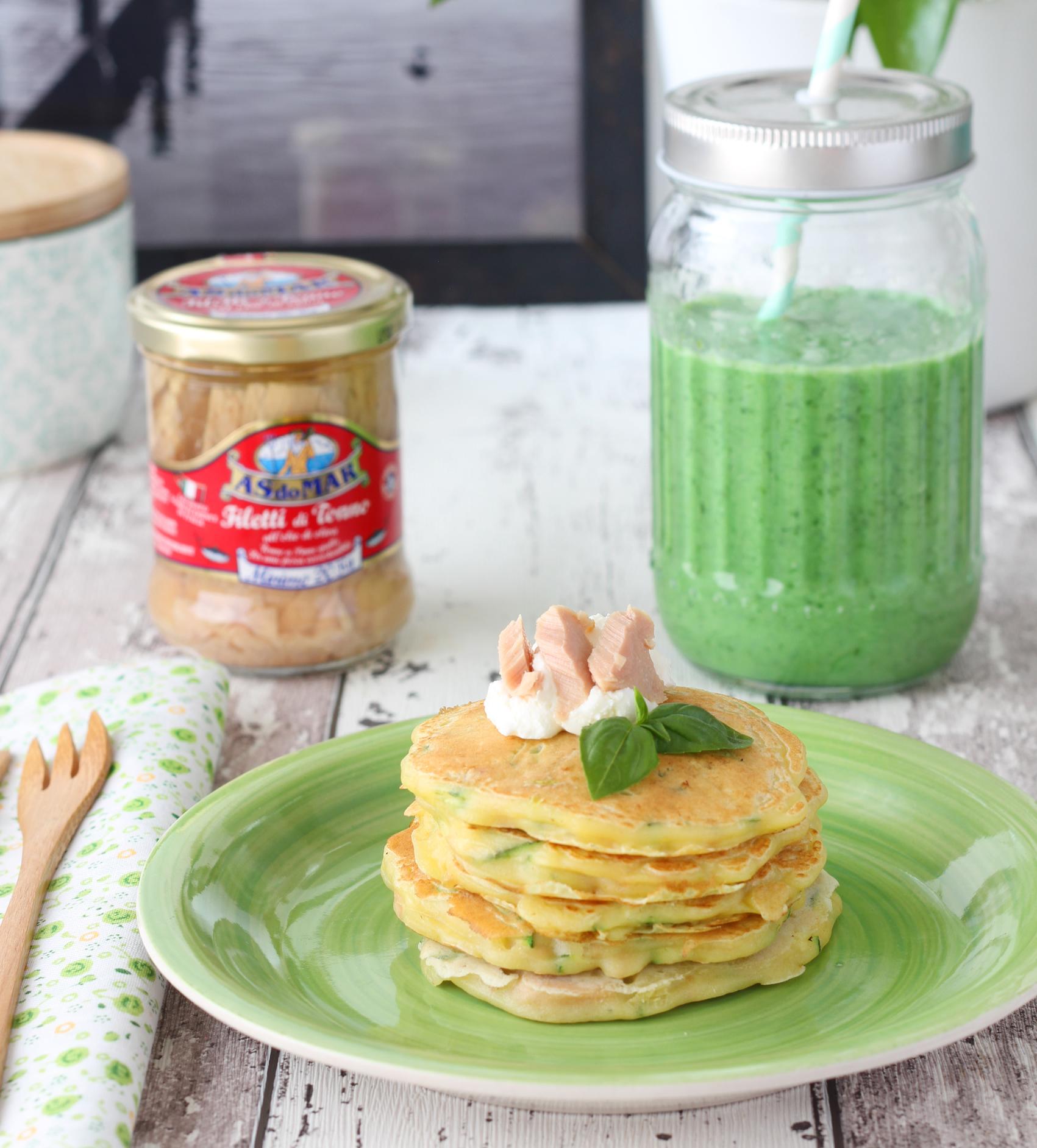 Pancakes Tonno Zucchine